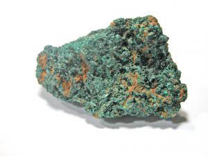 Green colored mineral